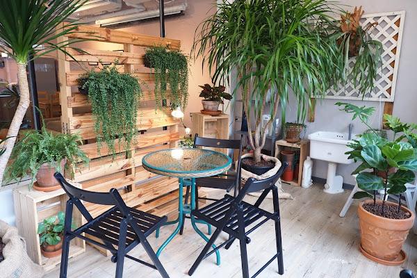 《南京復興》在三樓 台北不限時咖啡廳 都市中的叢林咖啡廳