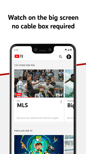 YouTube TV screenshot 3