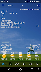 Transparent clock weather Pro 0.99.02.47 APK 4