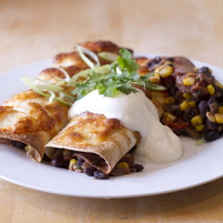 Black Bean Enchilada.