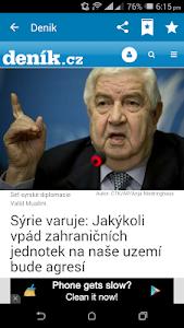 Czech Newspapers screenshot 4
