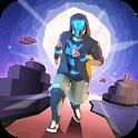 Space Parkour Runner - freerun to horizon! icon