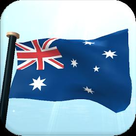 Австралия Флаг 3D Бесплатных