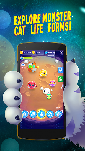 Space Cat Evolution: Kitty collecting in galaxy for PC