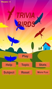 Flying Birds With Math Trivia - náhled