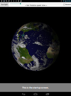 Earth rotation - náhled