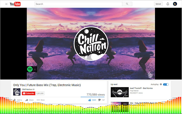 Youtube Music Visualizer