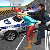NY Police Car Chase: Crime City Car Driving