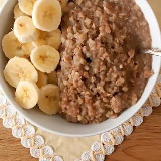 Buckwheat Porridge With Bananas.