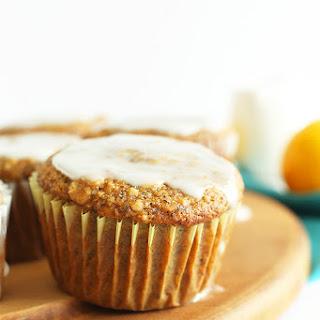 Vegan Meyer Lemon Poppy Seed Muffins