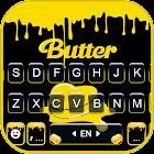 Kpop Butter Drop Keyboard Background
