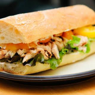 Honey-Mustard Chicken Sandwiches.