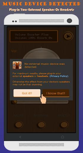 Volume Booster Plus 1.4.7 screenshots 12