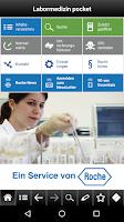 Screenshot of Labormedizin pocket