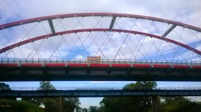 Photo: nowy most między Bierawą a Ciskiem