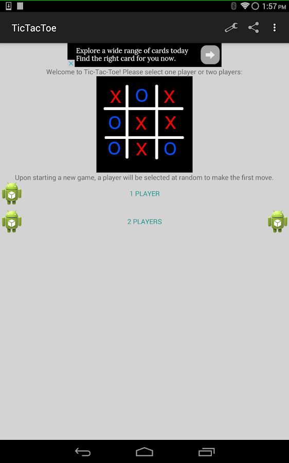 Tic Tac Toe - 3 in a row FREE- screenshot