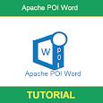 Apache POI Word Tutorial icon