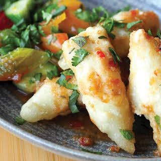 Thai-Style Rockfish with Spicy Tamarind Sauce.
