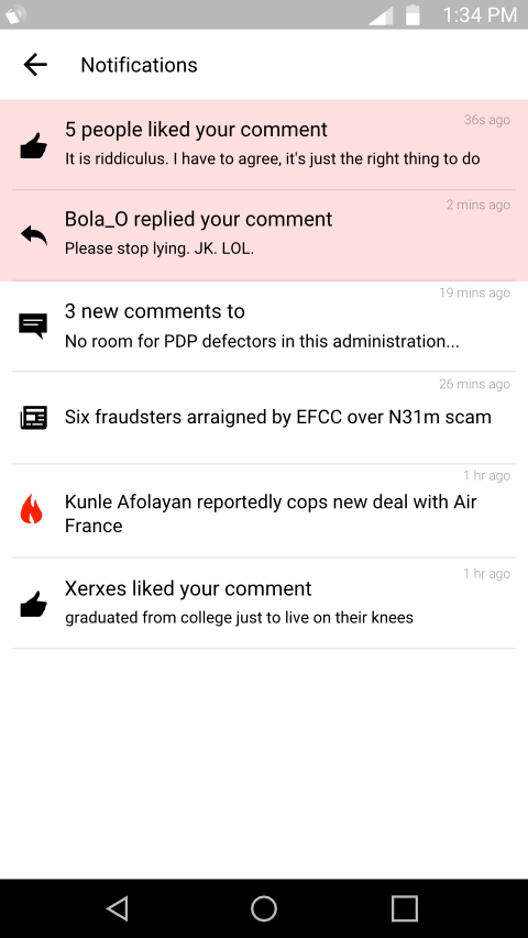 Amebo : News Around You- screenshot