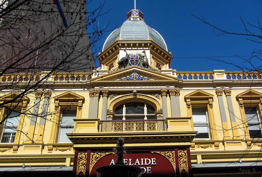Australia-Adelaide-Arcade - Adelaide Arcade is a shopping arcade in the center of Adelaide, South Australia.