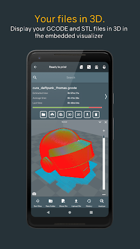 Screenshot for Printoid - Remote for OctoPrint [PREMIUM] in United States Play Store