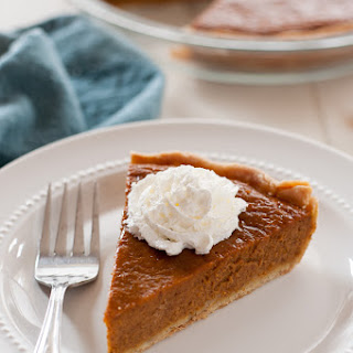 Gluten & Dairy Free Maple Pumpkin Pie.