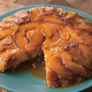 Upside-Down Butterscotch Apple Sour Cream Cake