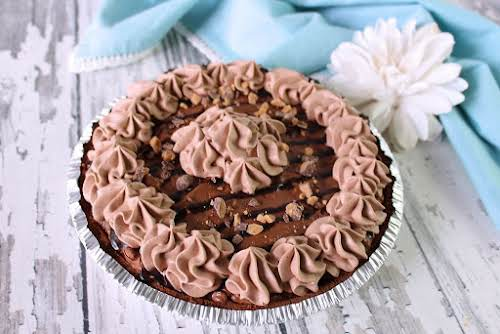 """Whipped Chocolate Candy Crunch Pie """"I also have a small love affair..."""