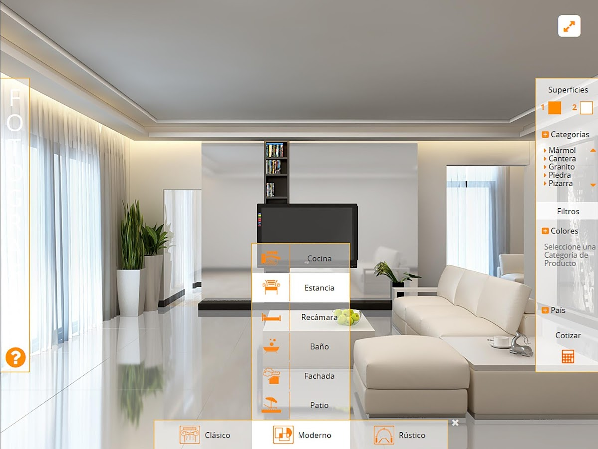 Decorador Virtual- screenshot