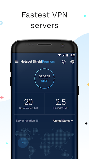 Hotspot Shield Free VPN Proxy & Wi-Fi Security 5.9.9 screenshots 2