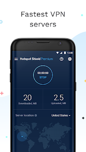 Hotspot Shield Free VPN Proxy & Wi-Fi Security [Mods][Premium] 2