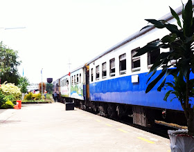 Photo: Aranyaprathet train station.