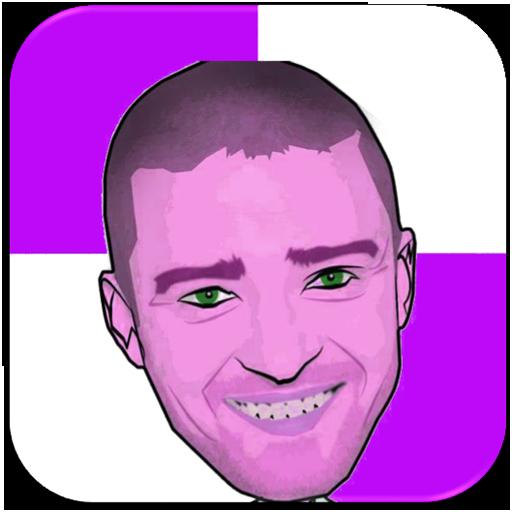 Justin Timberlake Piano Tiles 音樂 LOGO-玩APPs