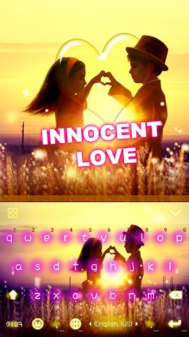 android Innocent Love Emoji Keyboard Screenshot 0