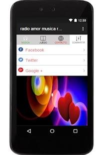 radio amor musica romantica fm - náhled