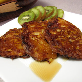 Bacon-Corn Fritters.