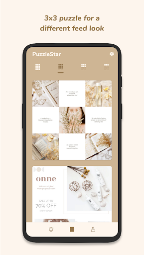 Puzzle Collage Template for Instagram - PuzzleStar 3.1.4 screenshots 2
