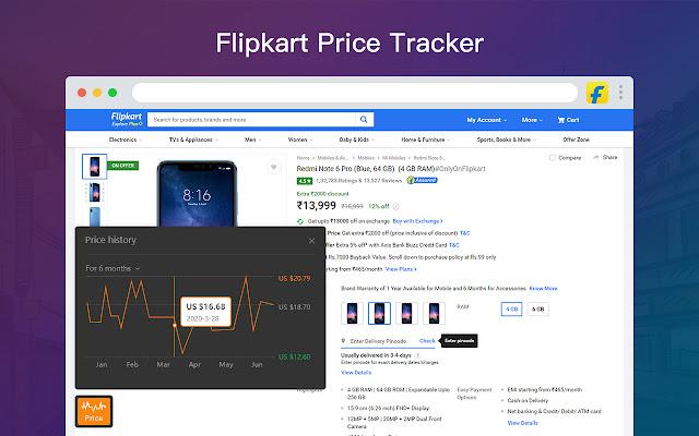 AliPrice Shopping Assistant for Flipkart