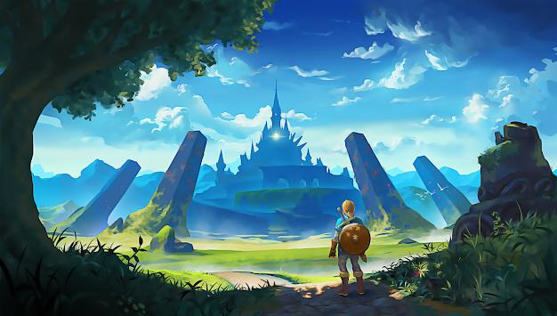 Legend Of Zelda Wallpaper Poster