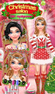 Christmas Salon Girl Makeover- screenshot thumbnail