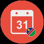 Easy Namibia Calendar