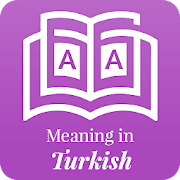 Meaning in Turkish‏