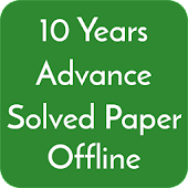 10 Years Jee Advance Solved Papers Offline