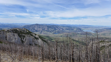 Photo: Lower Holter Lake from Willow Peak
