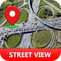 Street View Earth Map: Transit Tracker Odometer icon