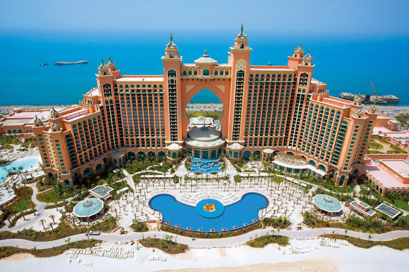 Taking a cruise to the Middle East? Atlantis the Palm Dubai opened in September 2008.
