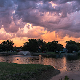 by Kathy Suttles - Landscapes Cloud Formations