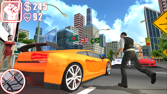 City Gangster Crime Simulator - náhled