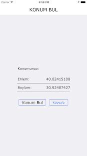 Konum Bul - náhled