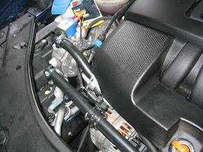 Photo: Motorraum, Verdampfer